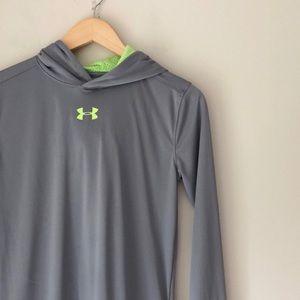 Under Armour Gray Hoodie Shirt